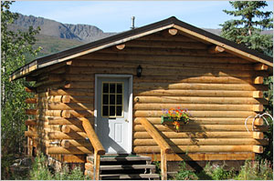 Log Cabin Rentals in Denali Alaska